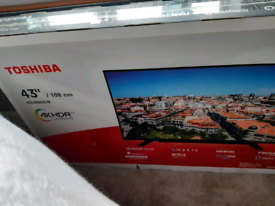 "Toshiba 43"" 4K HDR ULTRA HD TV"