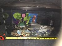 Brand new fish tank with accessories (never used)