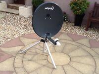 Satgear portable satellite dish