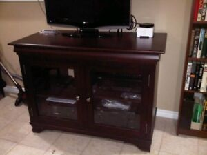 TV & Stereo Cabinet - Real Wood!