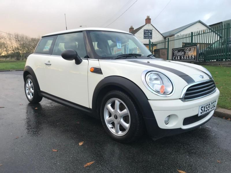 Mini One 14 Salt Pack White 37000 Miles 2 Owners No