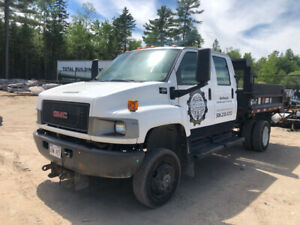 Priced to Sell - 2008 gmc C4500 Crew Cab Dump