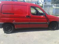 2002 Peugeot Partner Diesel Van ( £500 TO CLEAR )