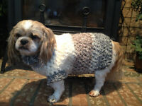 COZY CROCHET PET SWEATERS