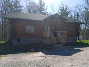 Custom Log Home on Six Nations