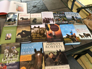 Variety of horse books for sale