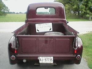 Old & Maroon. 1949. FORD CERTIFIED