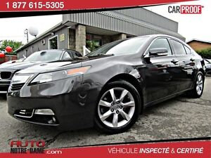 Acura TL 4dr Sdn Auto 2WD CUIR TOIT ** NOUVEL ARRIVAGE **  2013