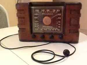 Antique 1930's Crosley Broadcast Shortwave Radio