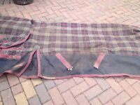 Shires 350g out door rug