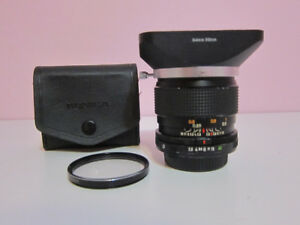 Manual and Autofocus Lenses