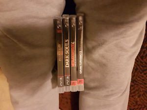 Rated M PS 3 games