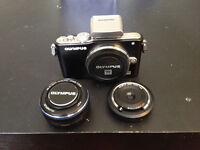 Olympus e-pl3 with extras