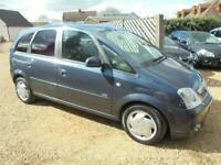 2010 Vauxhall Meriva 1.6 i 16v Design 5dr (a/c) MPV Petrol Manual