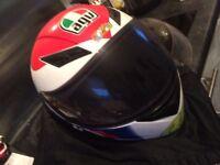 Motorcycle motorbike go kart helmet AGV