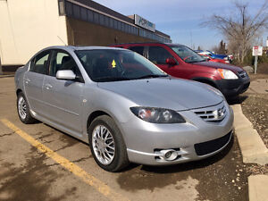 2006 MAZDA3 SPORT ONLY 119KM SUPER RELIABLE GREAT ON GAS