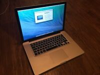 MacBook Pro 15 late 2011 4gb 500hd used.