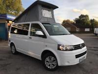 2013 VW T5 Transporter campervan camper poptop stunning 1yr warranty