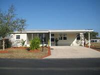 Attention SNOWBIRDS  !!...55+  Mobile Park , Winterhaven Florida