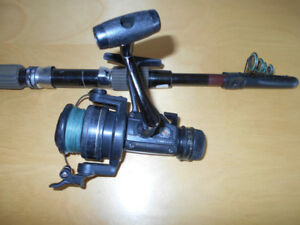 Canne moulinet Telescopic Voyage,Shimano, Travel fishing rod ree