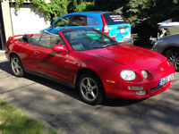 TOYOTA CELICA GT Convertible + A/C - NO WINTERS Great Cond'n