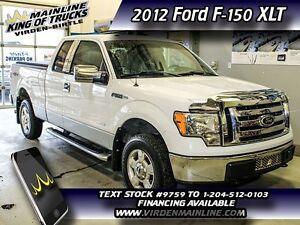 2012 Ford F-150 XLT  - $210.61 B/W