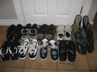 11 PAIRS ALMOST NEW MENS SIZE 8 SHOES!!!