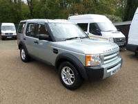 2006 Land Rover Discovery 3 2.7TD V6 **ON SPRINGS** 5 SPEED MANUAL, 4X4 ESTATE,