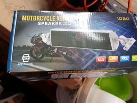 Motorcycles Aude Speaker App Control