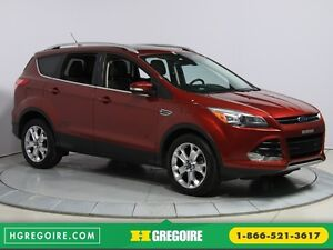 2014 Ford Escape TITANIUM AWD CUIR TOIT PANO NAV PARK ASSIST