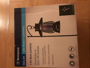 Led garden lamp and insect control