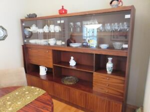 Priced to go: Solid Rosewood wall unit / cabinet / hutch