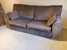 SOFABED AND CHAIR, FREE DELIVERY
