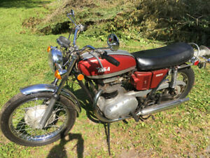 650 BSA Thunderbolt Motorcycle 1971