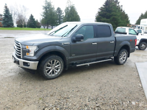 2017 f150 xlt xtr 4x4 with 302A package 8000 kilometers