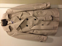 Zara trench-coat