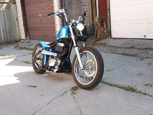 Rare Hardtail Bobber: Ryca/Savage Chopper - Cool Beast
