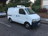 SUZUKI CARRY 1.3 04 REG 2004 REFRIGERATOR/CATERING VAN 67,000 MILES WARRANTED