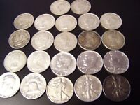 FOR SALE canadian and american silver half dollar coins. bullion