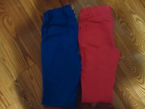 Girls Jeggings with adjustable waist-New condition