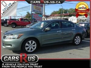 2008 Honda Accord EX-L V6 w/Navi.....Includes 4 FREE winter tire