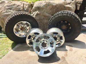 8 Bolt Dodge Aluminum wheels
