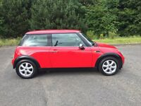 2002 MINI ONE 1.6 3 DOOR BRIGHT CHERRY RED, BMW ENGINE LONG MOT