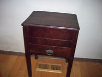 Antique Sewing Box Stand........