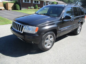 JEEP GRAND CHEROKEE LIMITED 2004 4x4