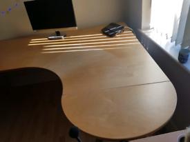Galant IKEA desk