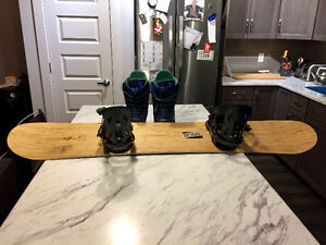 Board, Bindings, Boots, all good condition