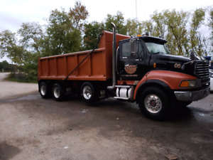 FOR SALE 2001 L9500 STERLING TRI AXLE DUMP TRUCK