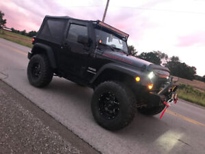2016 Jeep Wrangler Sport  | LIFTED | LOTS OF MODS