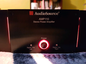AUDIOSOURCE AMP 110 POWER AMPLIFIER IN AWESOME CONDITION